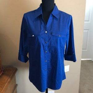 Croft&Barrow 3/4 Sleeve Button Shirt